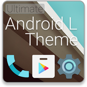 Android L Launcher Theme 1.2
