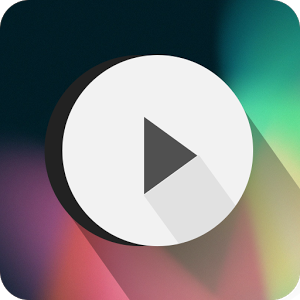 Poweramp skin Flat Transparent 1.0.5
