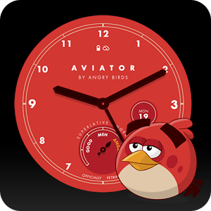 Angry Birds Aviator Watch Face