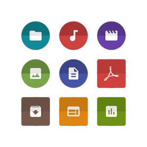 Unfolded Icons Solid Explorer
