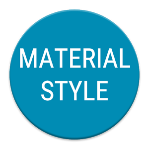 Material Style Pack for Zooper  1.1