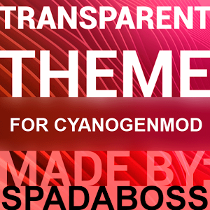 Transparent Red - CM13 Theme