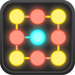 Neon Hack: Pattern Lock Puzzle