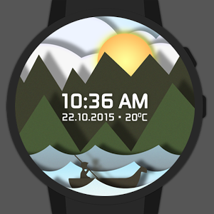 Time Sailor Animated Watchface  2.0