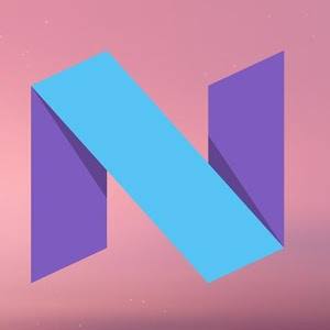 Stock Android N wallpapers