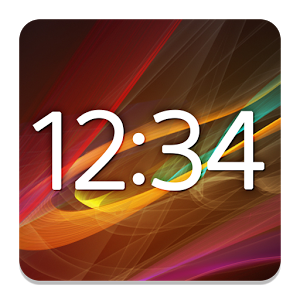 Digital Clock Widget Xperia