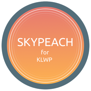 SkyPeach for KLWP