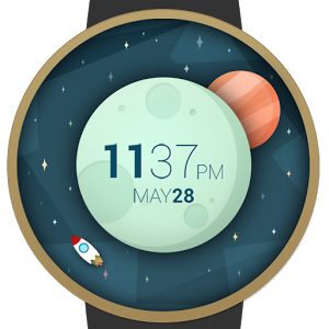 Space And Time Watch Face 1.3