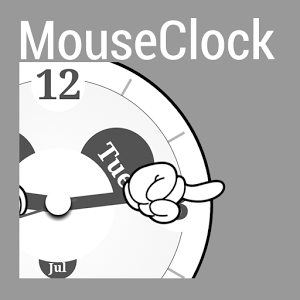 MouseClock for Kustom