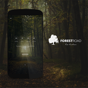 Forest Road Theme for KLWP