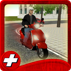 Free Scooter Drive School 3D  1.0