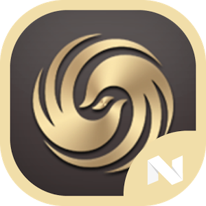 N Theme - Gold Icon Pack