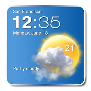 Digital Clock Weather Widget  1.5