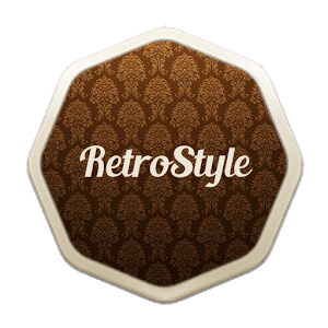 Style Retro Icons Pack