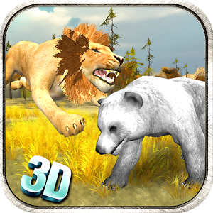 Lion Simulator 3D -Safari Game