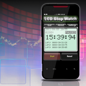LCD Stop Watch(FREE)