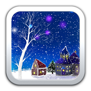 Romantic Snow Live Wallpaper.