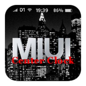 MIUI Center Clock (unofficial) 1.2.2