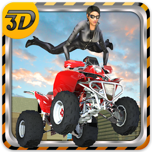 City Quad Bike Stunts 3D