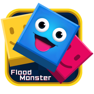 Flood Monster-Color Puzzle Game-Monument Valley