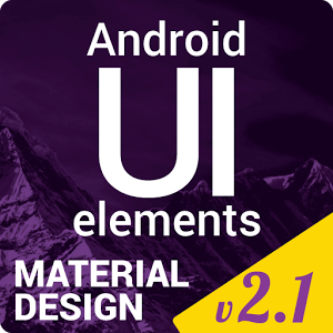 Material Design UI Template