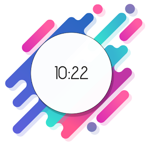 MNML Digital Clock Mods [Substratum]