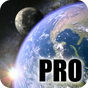 Earth & Moon in HD Gyro 3D PRO Parallax Wallpaper 2.4.1 [Patched]