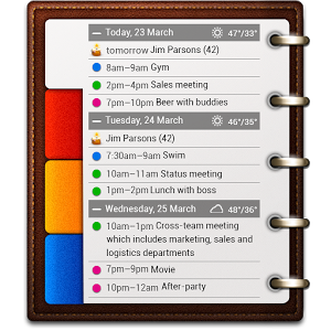 All-in-One Agenda widget
