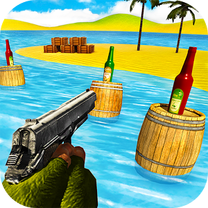 Gun Bottle Shooting Expert 3D
