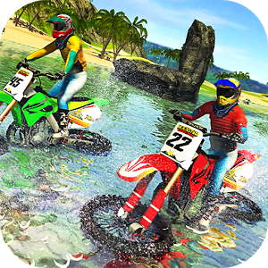 Beach Water Surfer Bike Racing1.0