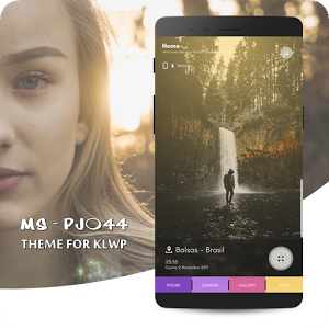 MS - PJ044 Theme for KLWP