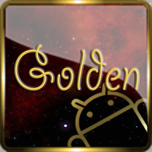 Golden Glass Nova Icon Pack
