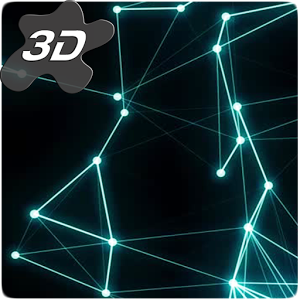 Plexus Particles 3D Live Wallpaper