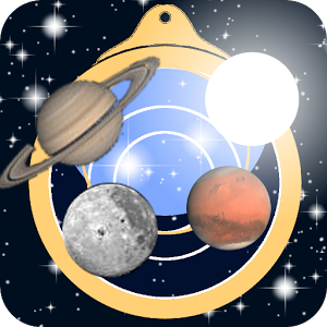 Astrolapp Planets and Sky Map