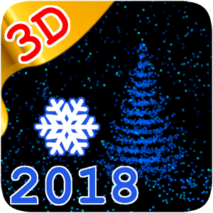 3D New Year 2018 LWP