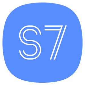 S7/S8 Launcher for Galaxy S/J/A, theme & icon pack