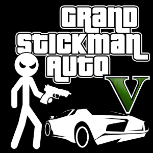 Grand Stickman Auto V 1.07 (Mod Money)