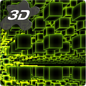 Infinite Cubes Particles 3D Live Wallpaper 1.0.6 [Paid]