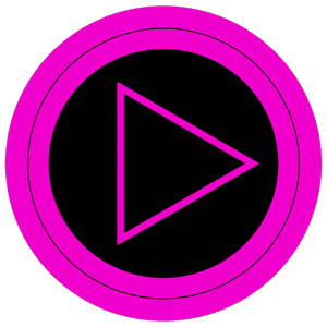 Poweramp skin TRON PINK3.02 [Paid]