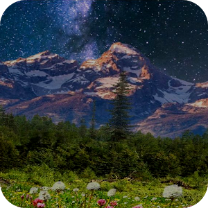 Mountain Flowers Pro Live Wallpaper 1.1.0 [Paid]