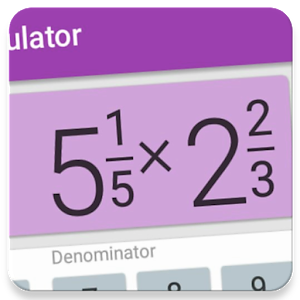 Fraction calculator with solution for free2.4 [Pro]