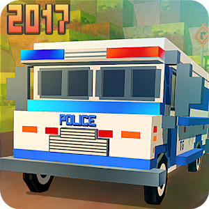 Blocky San Andreas Police 2017 unknow
