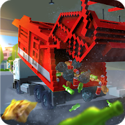 Blocky Garbage Truck SIM PRO1.3 (Mod Money)