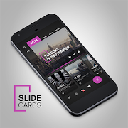 Slide Cards Theme for KLWP