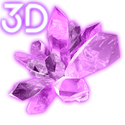 Shiny Crystals Parallax 3D Live Wallpaper1.0.4 [Paid]