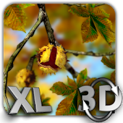 Autumn Leaves in HD Gyro 3D XL  Parallax Wallpaper