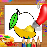Fruits Coloring Book & Drawing Book - Kids Game Fruits Coloring Book & Drawing Book - Kids Game [Add Free]