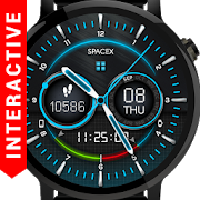 Space-X Watch Face Interactive