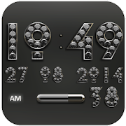 Digi Clock Widget Silver Diamond 2.70 [Paid]