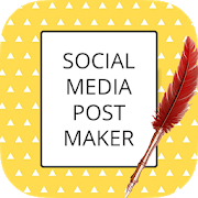 Social Media Post Maker & Banner Creator